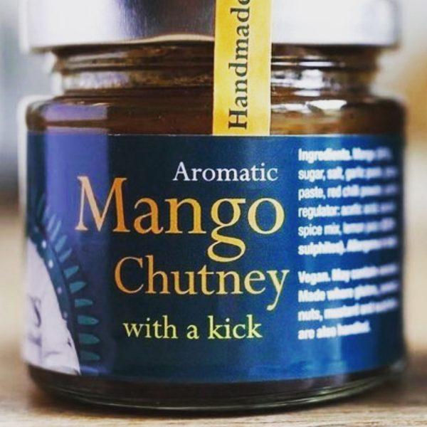 2) Mango Chutney – Aromatic